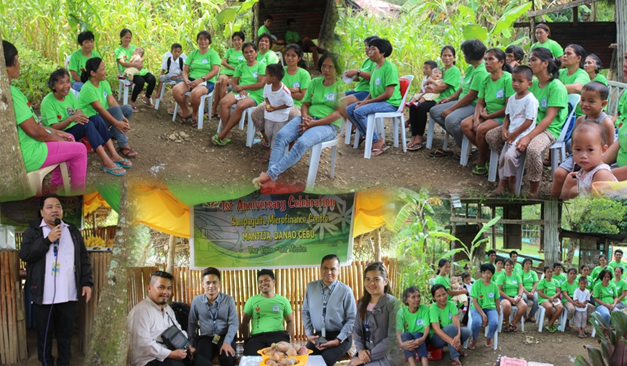 1st Anniversary of Micro-finance group Sampaguita Center @ Mantija Danao Cebu